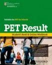 Oxford University Press PET Result! Student´s Book and Online Workbook cena od 526 Kč