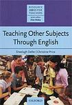 Oxford University Press Resource Books for Teachers Teaching Other Subjects Through English cena od 382 Kč