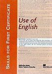 Macmillan SKILLS FOR FIRST CERTIFICATE Use of English Student´s Book cena od 396 Kč