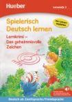 Hueber Verlag Spielerisch Deutsch lernen - Lernkrimi - Das geheimnisvolle Zeichen, Buch mit MP3 Download cena od 168 Kč