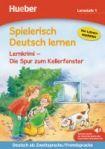 Hueber Verlag Spielerisch Deutsch lernen - Lernkrimi - Die Spur zum Kellerfenster, Buch mit MP3 Download cena od 200 Kč
