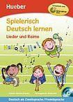 Hueber Verlag Spielerisch Deutsch lernen Lieder und Reime Buch + gratis Audio CD cena od 319 Kč