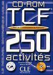 CLE International TEST DE CONAISSANCE DU FRANCAIS 250 ACTIVITES cena od 359 Kč