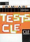 CLE International TESTS CLE DE GRAMMAIRE: NIVEAU AVANCE cena od 212 Kč