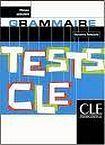 CLE International TESTS CLE DE GRAMMAIRE: NIVEAU DEBUTANT cena od 195 Kč