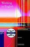 Cambridge University Press Working in English Personal Study Book with Audio CD cena od 416 Kč