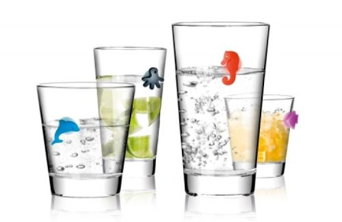 Tescoma značky na sklenice 12 ks cena od 189 Kč