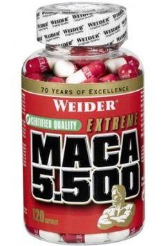 Weider Maca 5.500 120 kapslí