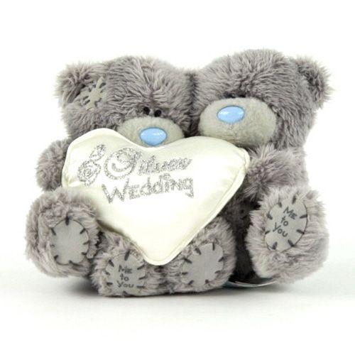 Me to You Medvídek stříbrná svatba 10 cm cena od 0 Kč