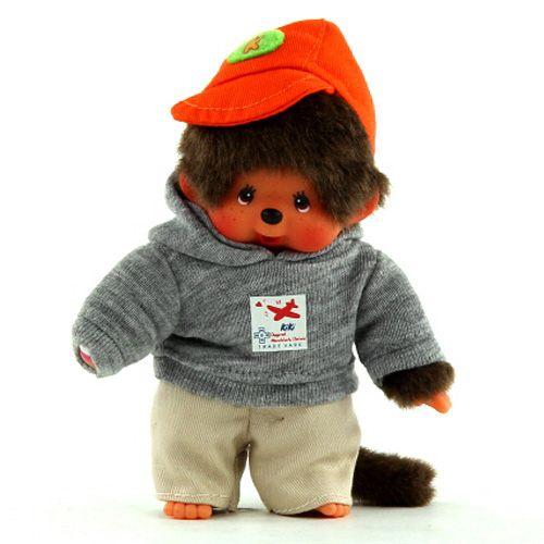 Monchhichi Superstar kluk mikina s kapucí 16 cm cena od 267 Kč