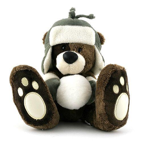 Teddy Big Foot Medvídek v beranici 13 cm cena od 0 Kč