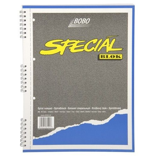 Bobo Speciál blok A4 prázdný