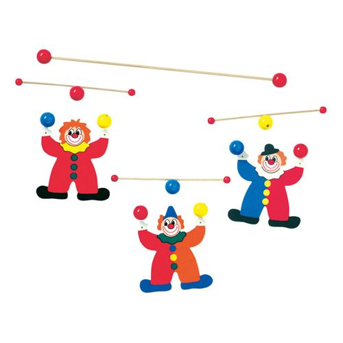 Závěsný kolotoč - žongléři cena od 285 Kč