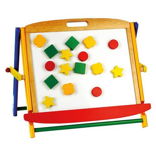 Bino Magnetická stolní tabule s písmenky cena od 0 Kč