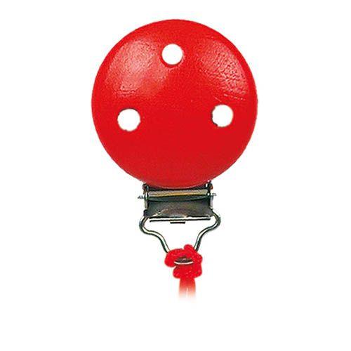 Klip - samostatný - červený (balení obsahuje 10 ks) cena od 37 Kč