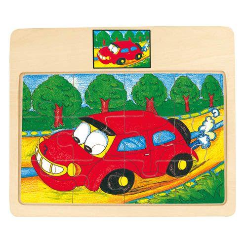 Puzzle na desce - auto - Tori cena od 74 Kč