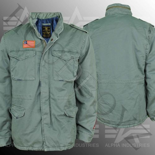 Alpha Industries M 65 Woodstock Zimní Bunda