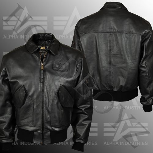Alpha Industries Cwu Real Leather Bunda