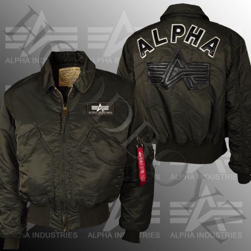 Alpha Industries Cwu Big A Field Bomberjacke bunda