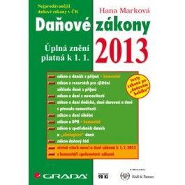 Daňové zákony 2013 cena od 98 Kč