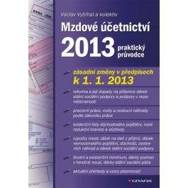 Mzdové účetnictví 2013 cena od 381 Kč