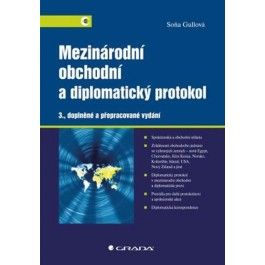 Soňa Gullová, Františka Müllerová: Mezinárodní obchodní a diplomatický protokol cena od 238 Kč
