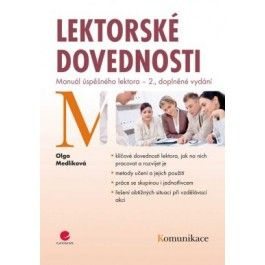Olga Medlíková: Lektorské dovednosti - Manuál úspěšného lektora cena od 227 Kč