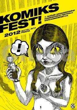 Kolektiv autorů: KomiksFEST! 2012 cena od 71 Kč