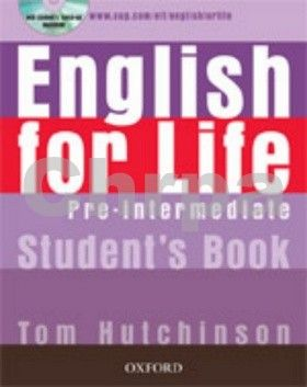 Tom Hutchinson: English for life Pre-Intermediate Studen´s book + MultiROM Pack cena od 393 Kč