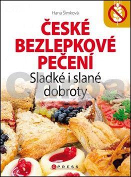 Hana Šimková: České bezlepkové pečení cena od 169 Kč
