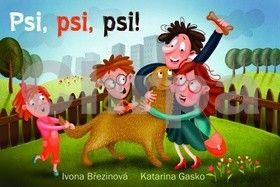 Ivona Březinová, Katarina Gasko: Psi, psi, psi cena od 60 Kč