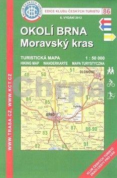 KČT 86 Okolí Brna-Moravská kras cena od 99 Kč