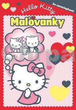 EGMONT Hello Kitty Maľovanky so samolepkami cena od 83 Kč