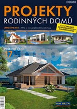 Projekty rodinných domů 2/2012 cena od 60 Kč