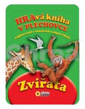 Veliente F.: Zvířata - Hravá kniha v plechovce cena od 123 Kč
