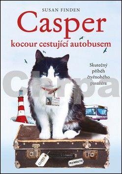 Susan Finder: Casper, kocour cestující autobusem - Skutečný příběh čtyřnohého pasažéra cena od 239 Kč