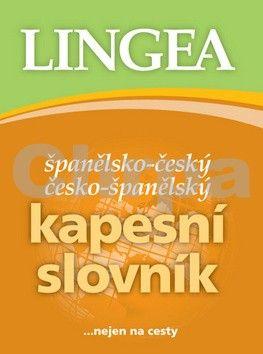 Lingea Španělsko český česko-španělský kapesní slovník cena od 117 Kč