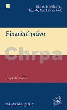 Petr Kotáb: Finanční právo cena od 756 Kč