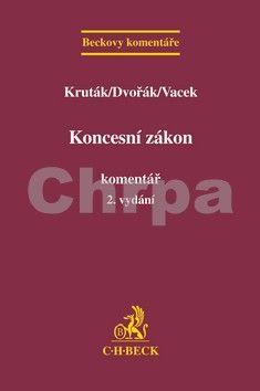 C.H.Beck Koncesní zákon. Komentář cena od 187 Kč