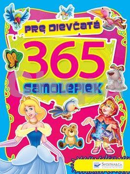 Svojtka 365 samolepiek pre dievčatá cena od 93 Kč