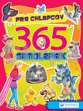 Svojtka 365 samolepiek pre chlapcov cena od 94 Kč