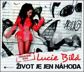 Lucie Bílá, Fronk Lukáš: Lucie Bílá – Život je jen Náhoda + DVD cena od 95 Kč