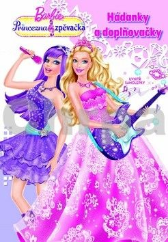 Barbie Princezna a zpěvačka Hádanky a doplňovačky cena od 44 Kč