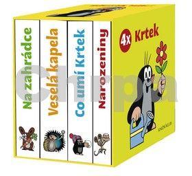 Zdeněk Miler: 4x Krtek (komplet v krabičce) cena od 159 Kč