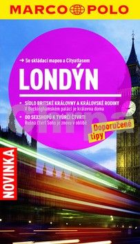Londýn cestovní průvodce s mapou cena od 135 Kč