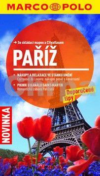 Paříž cestovní průvodce s mapou cena od 110 Kč