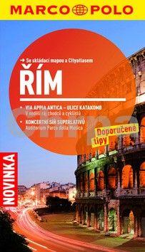 Řím cestovní průvodce s mapou cena od 110 Kč