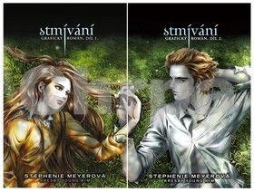 Stephenie Meyer: Stmívání - grafický román - 1. + 2. díl - krabice cena od 0 Kč