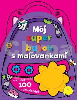 Svojtka Môj super batoh s maľovankami cena od 94 Kč