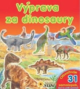 Valiente F.: Výprava za dinosaury - obsahuje 31 samolepek k opakovanému použití - 2. vydání cena od 66 Kč